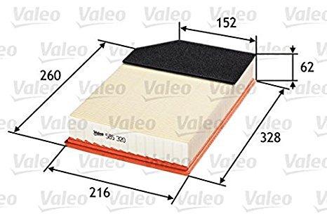 Въздушен филтър VALEO 585320 Volvo XC90  бензин -2014